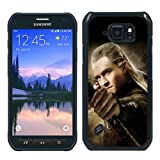 The Hobbit The Desolation Of Smaug Legolas Black Shell Case for Samsung Galaxy S6 Active,Unique Cover