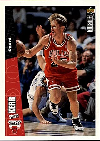 870ade56f1a 1997 Upper Deck - Steve Kerr - chicago Bulls - Card CH4 at Amazon s Sports  Collectibles Store