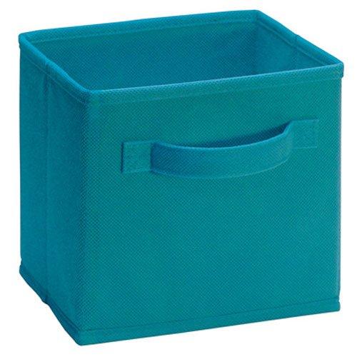 Closetmaid 1538 Cubeicals Mini Fabric Drawers, Ocean Blue, 2 (Blue Mini Fabric)