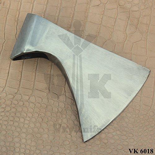 vk damascus knife VK6018 Handmade Carbon Steel (1095) Axe Hatchet Head only