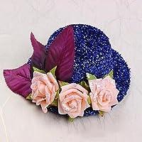 zhq Flower Girl sombreros de poliéster/algodón con rosas