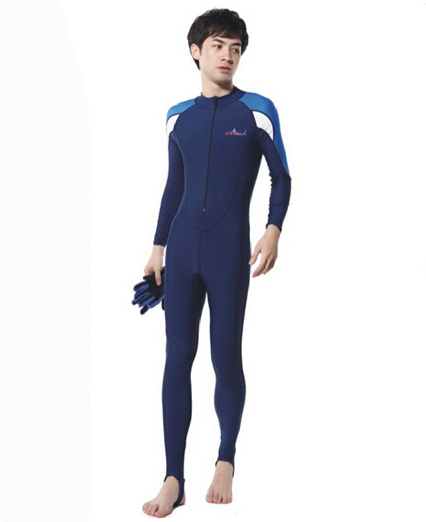 Cool Rash Guards one-Piece Swimming Diving Suit Men Women LUCKY BUTTERFLY