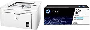 HP LaserJet Pro M203dw Wireless Laser Printer (G3Q47A) with Standard Yield Black-Toner-Cartridge