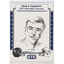 Russ A. Cappellino (Trading Card) 1990 GTE Super Bowl XXIV Corporate Sponsors - [Base] #RUCA