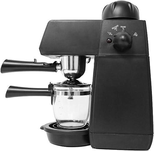 SYSWJ Cafetera 240Ml Semiautomática Máquina De Café Espresso De ...