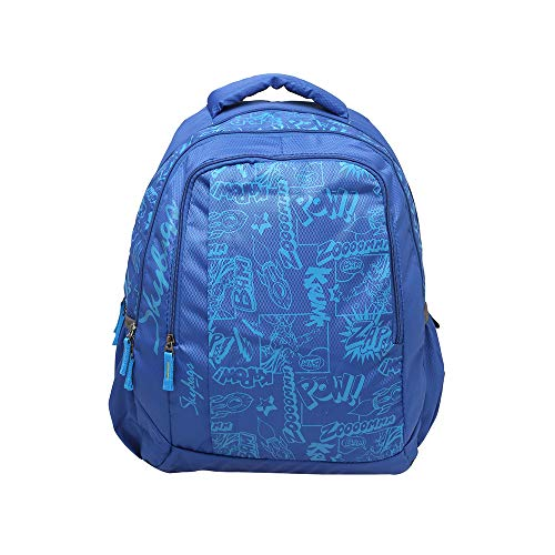 Skybags 11.1 Ltrs Royal Blue School Backpack (SBORI8HRBL)