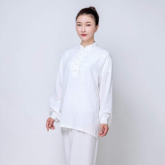 Amazon.com: ZHL&M - Ropa de uniforme para mujer Tai Chi ...