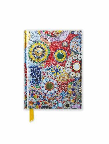 Gaudi (inspired by): Mosaic (Foiled Pocket Journal) (Flame Tree Pocket - Mosaic Journal