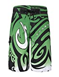 Unitop Men's Daily Beach Shorts Board Shorts Green 40