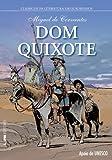 capa de Dom Quixote - Série Clássicos da Literatura em Quadrinhos