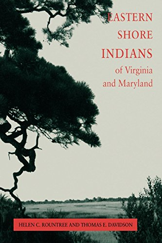 Eastern Shore (American) Indians of Virginia and Maryland from Brand: University of Virginia Press