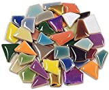 Flip Ceramic Mini Mosaic Tiles - Multicolour Mix 100g