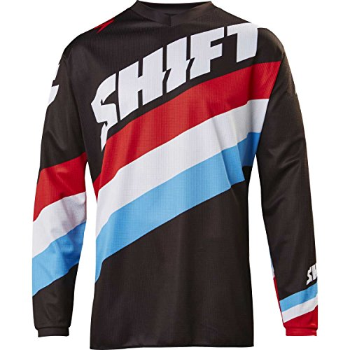 2017-Shift-Youth-White-Label-Tarmac-Jersey-Black-YXL