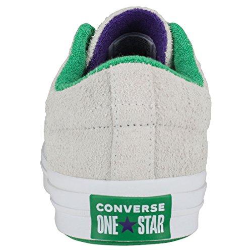 Green Star One Purple Converse OX White Schuhe Court 0UTWcw4qwf