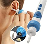 Electric Earwax Removal Kit, Electric Ear Cleaner, With 2 New-Designed Replacement Tips