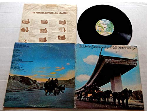 The Doobie Brothers THE CAPTAIN AND ME (55E) - Warner Brothers Records 1973 - USED Vinyl LP Record - 1974 Repressing BS 2694 - China Grove - Long Train Runnin' - Without You - South City Midnight Lady