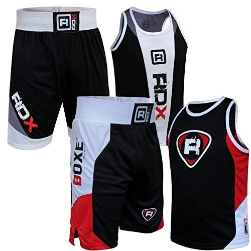 RDX Boxe Suit MMA Training Sports Tracksuit Tops Running Jogging Jumper Zipper Exercise