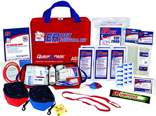 ER Emergency Ready Deluxe Pet Survival Kit for One Cat, PSKCK