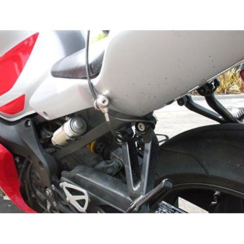 keyed cable lock Silver SecureCycleGear helmet heavy-duty jacket Silver