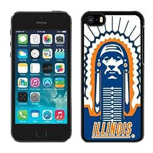 Customized Iphone 5c Case Ncaa Big Ten Conference Illinois Fighting Illini 4