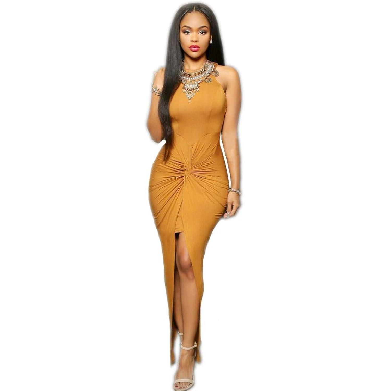 Muxika@Sexy Women Summer Sleeveless Backless Cross Party Evening Short Mini Dress