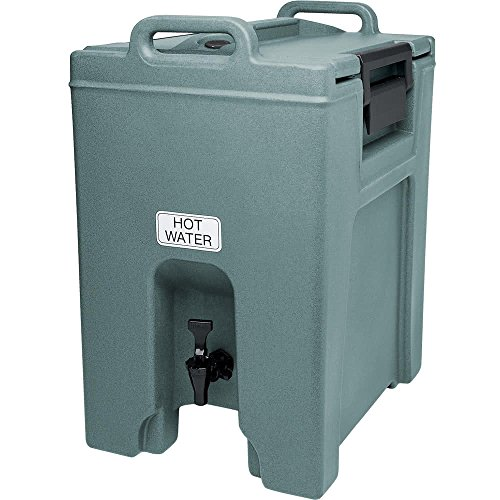 TableTop King UC1000401 Slate Blue Ultra Camtainer 10.5 Gallon Insulated Beverage Dispenser