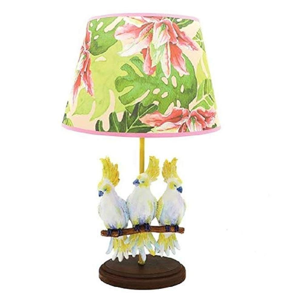 DEI Cockatoo Lamp