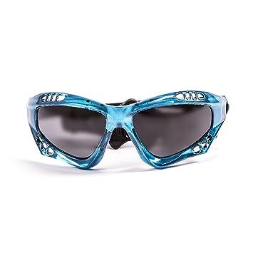 Ocean Sunglasses Australia - Gafas de Sol polarizadas - Montura : Azul Transparente - Lentes :