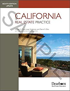 Amazon california real estate principles 9781475421804 california real estate practice 8th edition update fandeluxe Images