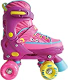 Best Sporting Rollschuhe für Kinder und Jugendliche, Größe verstellbar mit ABEC 7 Carbon Kugellager, Farbe: pink