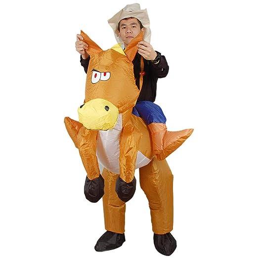 ypyrhh Traje Hinchable, Disfraz de Halloween, Ropa Inflable Ropa ...