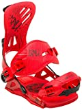 Gnu Mutant Snowboard Bindings - Large/Red
