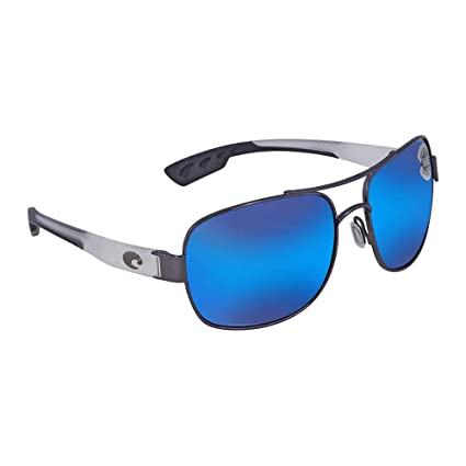 07a532413540 Amazon.com: Costa Del Mar Cocos 580G Cocos, Gunmetal with Crystal Temples  Blue Mirror, Blue Mirror: Sports & Outdoors