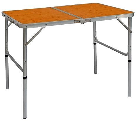 Struttura Pieghevole Per Tavolo.Amanka Tavolino Da Pic Nic 90x60x70cm Tavolo Da Campeggio Struttura