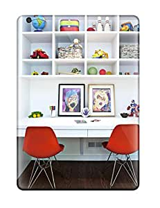 Perfect Kids8217 White Laminate Desk With Shelving For Toy Storage Case Cover Skin For Ipad Air Phone Case