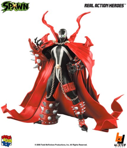 Medicom RAH Real Action Heroes McFarlane 12 Inch Deluxe Action Figure Spawn