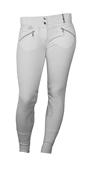 Lyon D'équitation Blanc Tournoi Pour Back2back Pantalon Femme wkN08OZnPX
