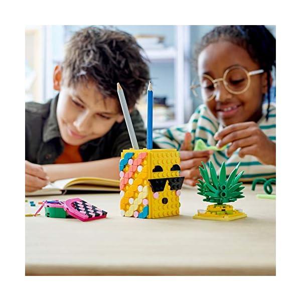 LEGO- Dots Portapenne Decora i Pannelli dell'Ananas e della Piccola Scatola Anguria ed Esponi Le tue Creazioni, Set di… 6 spesavip