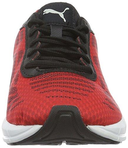 Puma Meteor - Zapatillas de Entrenamiento Hombre Rojo (High Risk Red-puma Silver-puma Black 01)
