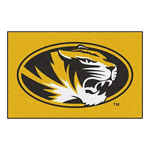 FANMATS NCAA University of Missouri Tigers Nylon Face Starter Rug