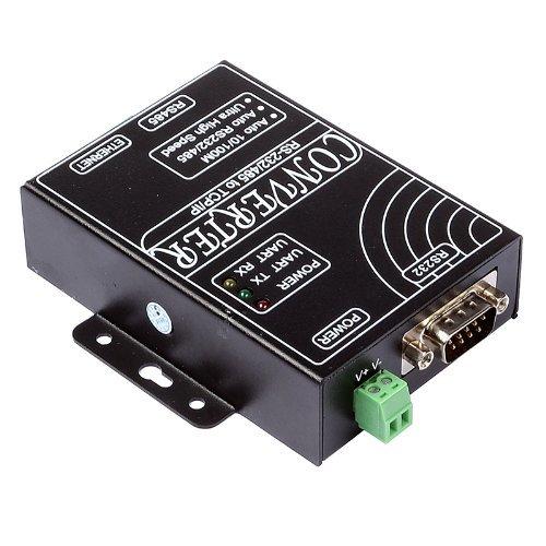 SainSmart TCP/IP Ethernet to Serial RS232 RS485 Intelligent Communication Converter