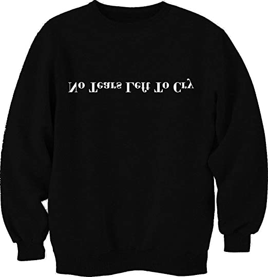 Ma Lina Ann Unisex Sweatshirts Crewneck Letter Print Pullover Blouse