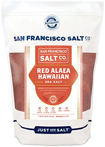 Red Alaea Hawaiian Sea Salt Fine Grain (2 lb. Bag - Fine Grain)