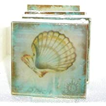 Sea Shell Soap,Try one Un Scented, Ocean theme, Beach theme soap, Made in America,The Salt Baron soap
