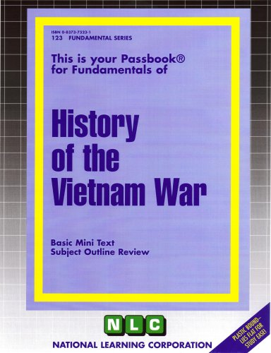 HISTORY OF THE VIETNAM WAR (Fundamental Series) (Passbooks) by Passbooks