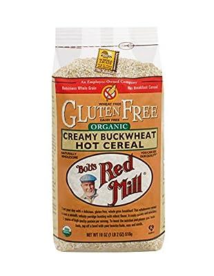 Organic Gluten Free Creamy Buckwheat Hot Cereal