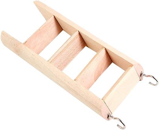 Pop etpop juguete para hamster pequeños animales Rata Escaleras Escalera de madera práctica cobaya hurones juguete: Amazon.es: Productos para mascotas