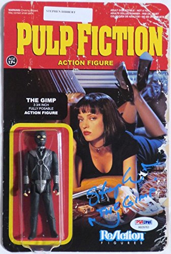 Stephen Hibbert Signed Pulp Fiction Auto The Gimp Reaction Figure PSA