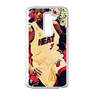 Abstract NBA Basketball Dwyane Wade Miami Heat Phone Case for LG G2