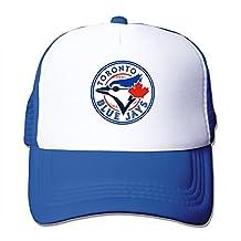 Enlove Toronto Blue Jays Unisex Adjustable Snapback Funny Baseball Caps One Size RoyalBlue